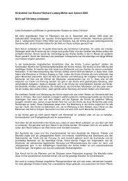 Hirtenbrief von Bischof Gerhard Ludwig Müller ... - Priesternetzwerk