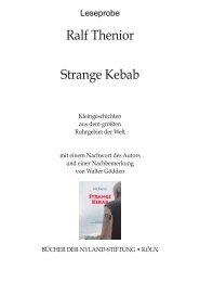 Ralf Thenior Strange Kebab