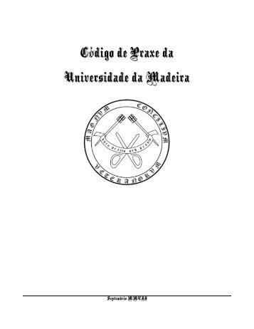 Código de Praxe da Universidade da Madeira
