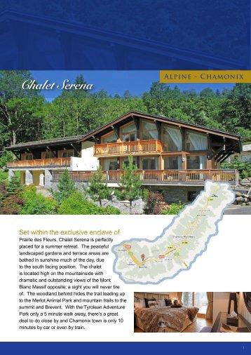 Chalet Serena Alpine - Chamonix