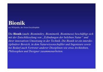 Bionik - Segelflug.de