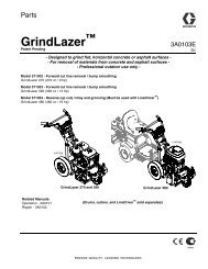 3A0103E - GrindLazer, Parts (English) - Graco Inc.