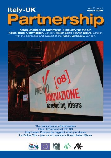 View the Publication (pdf) - The Italian Chamber of Commerce and ...
