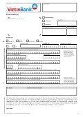 Dauerauftrag - Vietinbank - Seite 4