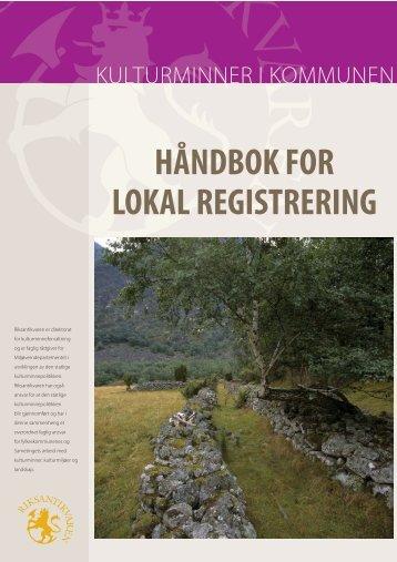 HÃ¥ndbok for lokal registrering (pdf). - Bibsys
