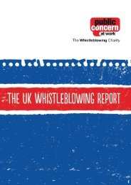 The Whistleblowing Report FINAL