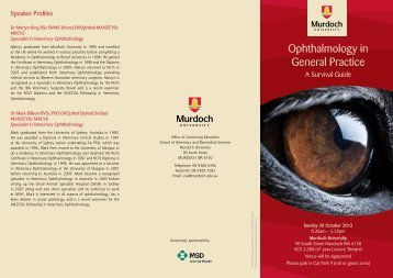 Ophthalmology in General Practice - Australian Veterinary Association