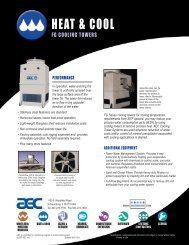 FG Cooling Tower - AEC, Inc.