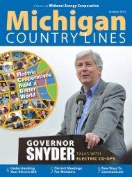 We - Michigan Country Lines Magazine