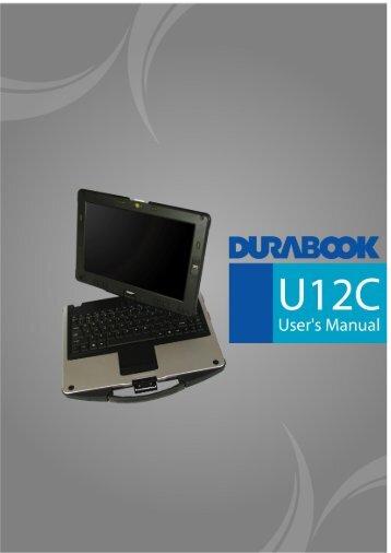 User Manual - Durabook