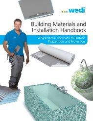wedi Building Materials Catalog - Sierra Glass Block