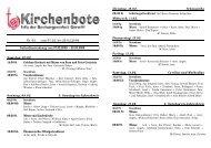 Kirchenbote 03 - Seelsorgeeinheit Görwihl