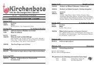 Kirchenbote 13 - Seelsorgeeinheit Görwihl
