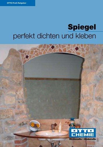 Spiegel perfekt dichten und kleben - Northe