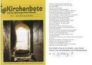 Kirchenbote 04 - Seelsorgeeinheit Görwihl