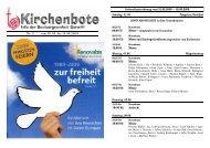 Kirchenbote 11 - Seelsorgeeinheit Görwihl