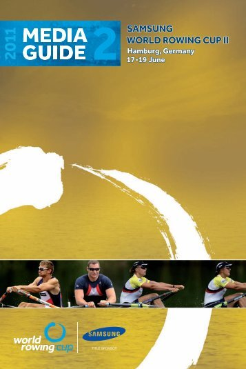 Couv media guide Hambourg 2011.indd - World Rowing