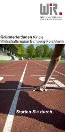 Gründerleitfaden fur die Wirtschaftsregion amberg-Forchheim