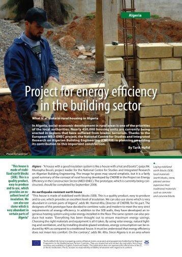 MedEnec Algeria.pdf - EU Neighbourhood Info Centre