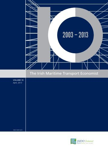 The Irish Maritime Transport Economist - Volume 10 - Marine Institute