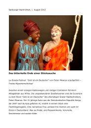 Salzburger Nachrichten, 1. August 2012 (pdf) - dramagraz