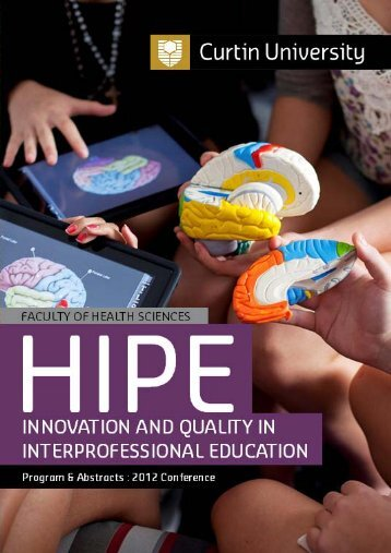 2012 HIPE: Innovation and Quality in Interprofessional Education