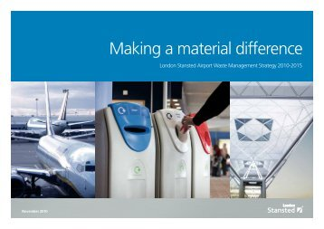 Making a material difference - London Stansted Airport