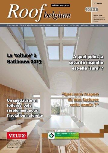 belgium - Magazines Construction