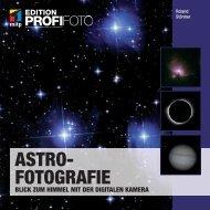 Astrofotografie - Blick zum Himmel mit der digitalen Kamera
