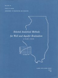 Selected Analytical Methods for Well and Aquifer Evaluation