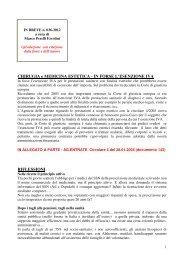 scarica le brevia num° 36 del 2012 - PERELLIERCOLINI.it