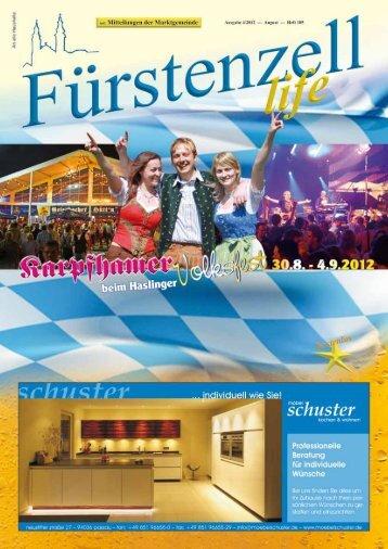 Geburtstag - Fuerstenzell.de