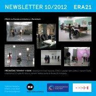 newsletter 10/2012 - Era21