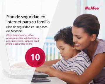 Plan de seguridad en Internet para su familia - McAfee