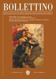 Marzo 2006 (pdf - 950 KB) - Ordine Provinciale dei Medici Chirurghi ...