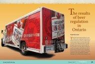The results of beer regulation in Ontario - Fraser Institute