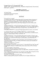 Consiglio di Stato, sez. IV, 25 gennaio 2013, n. 485 ... - Ediltecnico