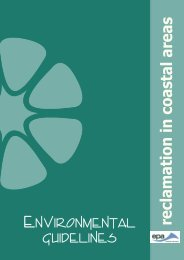 Environmental Guidelines for Reclamation in Coastal Areas
