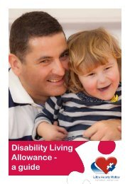 Disability Living Allowance - a guide - Little Hearts Matter