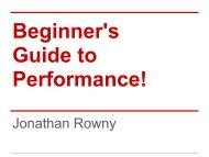 Beginner's Guide to Performance.pdf - DrupalCon Portland 2013