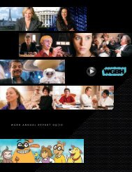 WGBH ANNUAL REPORT 09   10