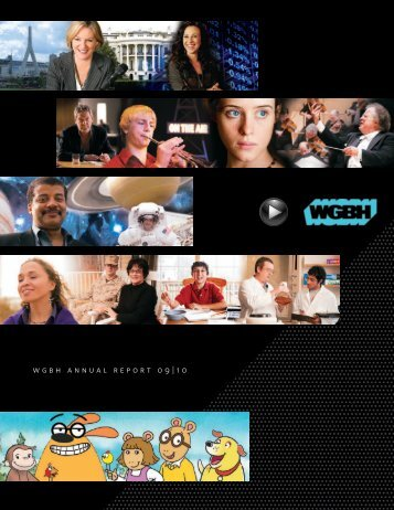 WGBH ANNUAL REPORT 09 | 10