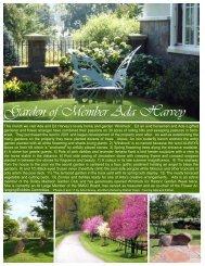 Ada Harvey Garden of the Month - Garden Club of Virginia