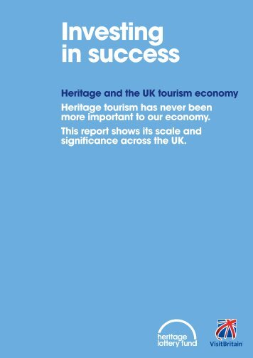 Heritage and the UK tourism economy - VisitBritain