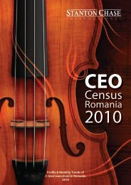 CEO Census Survey 2010 - Romania - Stanton Chase