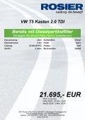 Fahrzeug-Exposee VW T5 Kasten 2.0 TDI - Page 2