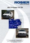 Fahrzeug-Exposee VW T5 Kasten 2.0 TDI - Page 3