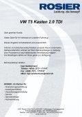 Fahrzeug-Exposee VW T5 Kasten 2.0 TDI - Page 4