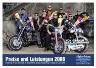 Preise und Leistungen 2008