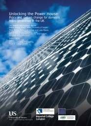 Unlocking the Power House: - Sustainable Energy Research Group